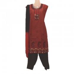 Indian outfit size 16 us - Red and black