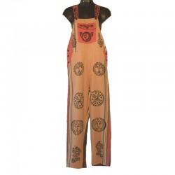 Salopette ethnique - Taille S - Différents motifs et couleurs