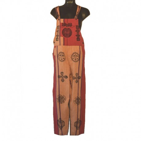 Ethnic overalls - 10 us size - Model 07
