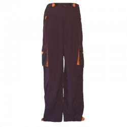 Men's pants pockets scratch - Purple and orange