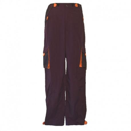 Men's pants pockets scratch - Purple and orange