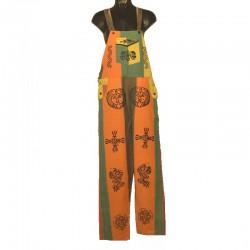 Salopette ethnique - Taille M - Différents motifs et couleurs