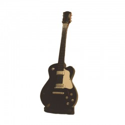 Wood electric guitar miniature - model 10
