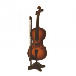Miniature violin varnish wood