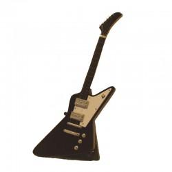 Guitare électrique miniature bois hard rock - modèle 30