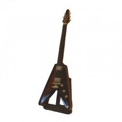 Guitare électrique miniature bois hard rock - modèle 32
