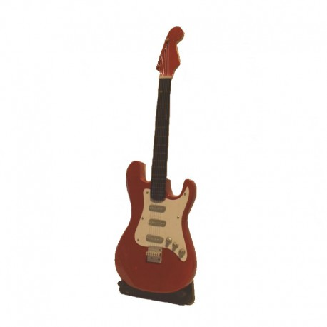 Mini electric guitar H 23 cm - model 24