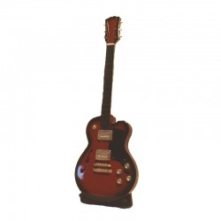 Mini electric guitar H 25 cm - model 27