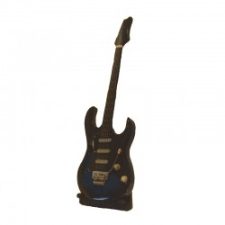 Wood electric guitar miniature - model 33
