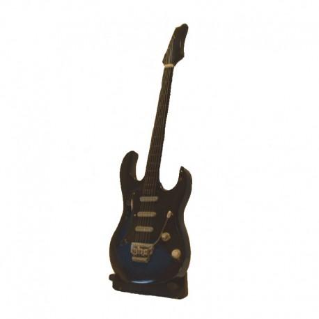Wood electric guitar miniature - model 33