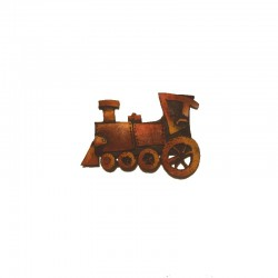 Resin hair slide locomotive