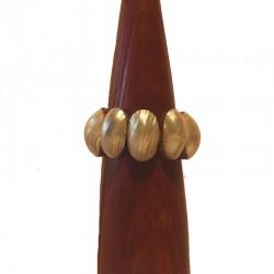 Bracelet bois et coquillage 3 cm - Différentes couleurs