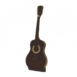 Wood folk guitar miniature - model 19