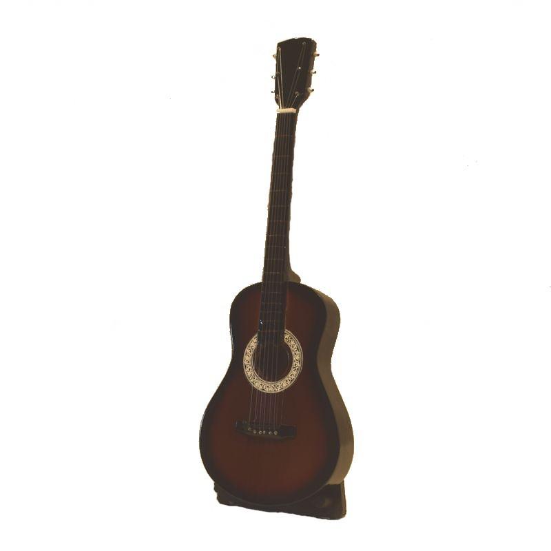 Guitare folk d corative guitare miniature d co bali for Decoration murale guitare