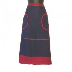 Jupe longue en coton - Tailles et couleurs différentes