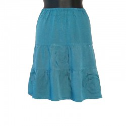 Short skirt in rayon - Different colors