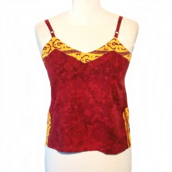 Rayon top with straps - Different colors