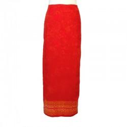 Jupe portefeuille en rayonne - Différentes couleurs