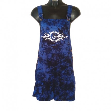 Tribal short overalls - Size 6 us - Dark blue mixed