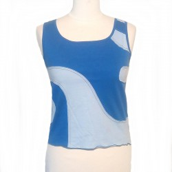 Cotton spiral top tank - Different colors