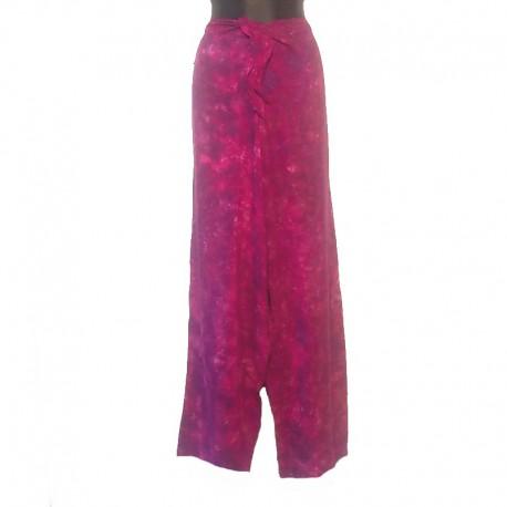 Pantalon en rayonne - Violet