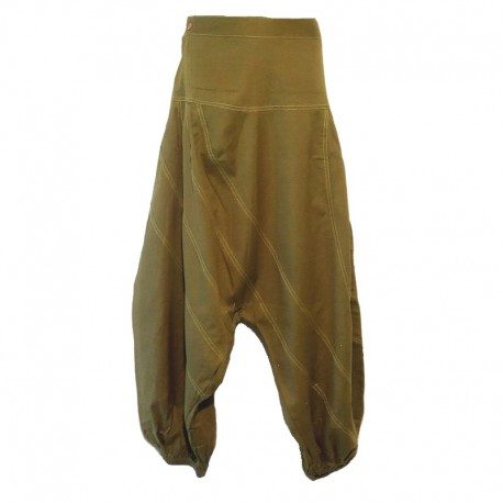 Sarouel pants men - Olive green
