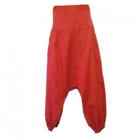Pantalon sarouel uni Homme - Rouille