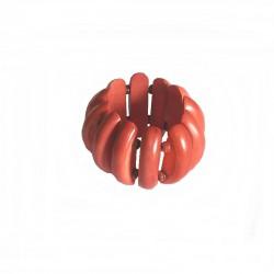 Bracelet bois Bali Larg 5cm - Différentes couleurs
