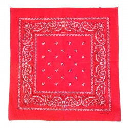 Cotton red bandana
