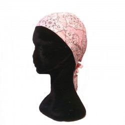 Zandana bandana en coton rose