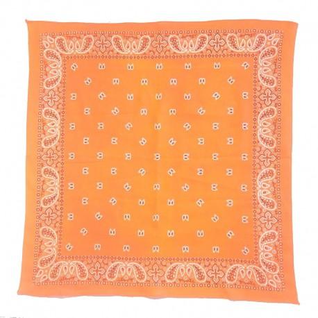 Fine cotton orange bandana