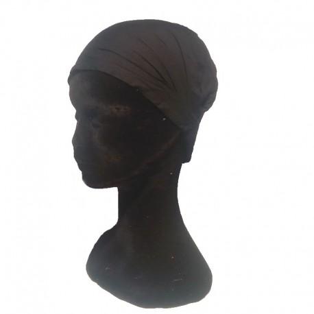 Black cotton headband