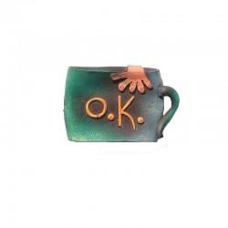 Barrette mug en résine