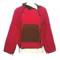 Women's jacket maroon size L