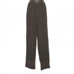 Straight pants in rayon - Different sizes and colors
