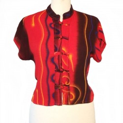 Top Tie and Dye en rayonne - Différentes tailles et couleurs