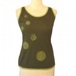 Cotton tank top bicolor - Different colors