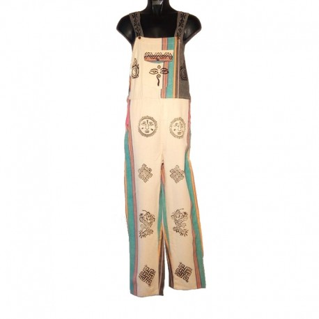 Ethnic overalls - 10 us size - Model 19