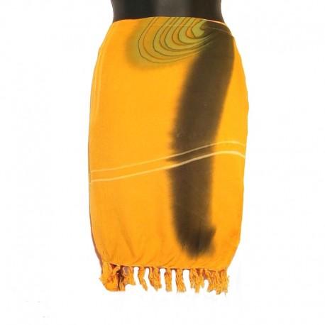 Rayon sarong skirt - Model 01