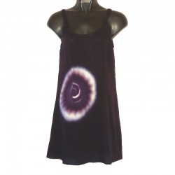 Robe courte Tie and Dye violet XS/36