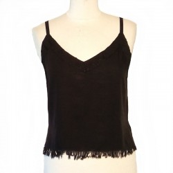 Black top with adjustable straps - Different sizes