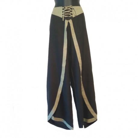 Pantalon femme Taille XL - Noir et vert