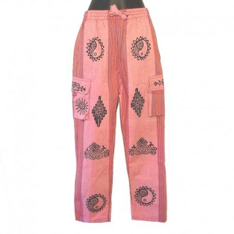 Pantalon ethnique Népal - Taille S - Modèle 02
