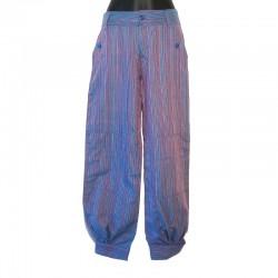 Pantalon style Aladin violet taille XS