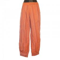 Pantalon style Aladin rouille -Différentes tailles