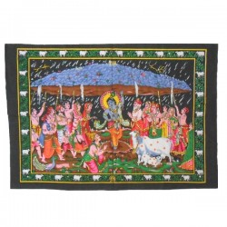 Wall hanging medium - Krishna young